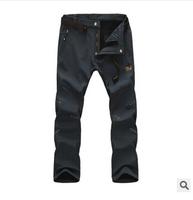 NEW warm men Outdoor Pants For Hiking & Camping fleece winter Sporting men Pants Waterproof Trousers men quick dry pants 9935