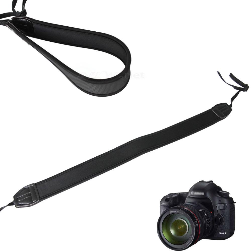 Free shipping !! Black adjustable NEW HOT Camera Straps Shoulder Bag Neck Strap Hang Rope forDigital Single Lens Reflex camera(China (Mainland))
