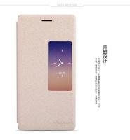 Original Nillkin Window Filp Sparkle Series PU Leather Case Cover  for Huawei Ascend P7 P7-L10 P7-L00 P7-L05 Sophia