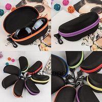 New Portable Zipper Peanut Sunglasses Superhard Hard Glasses Case Protector Box