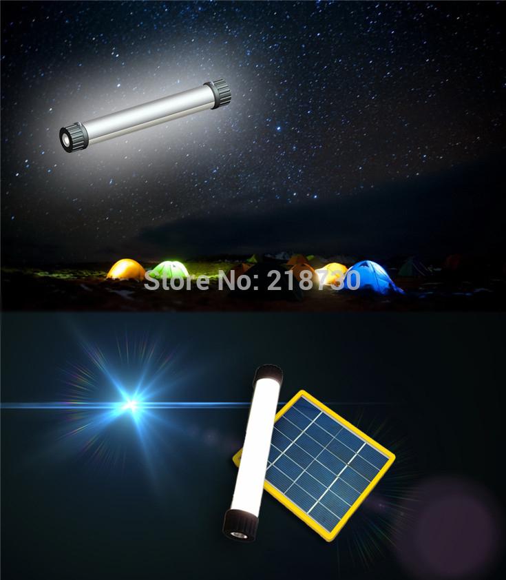new Multifunctional Mini solar LED Lamp Torch Light 3.7V*4000mA solar flashlight Dropshipping(China (Mainland))