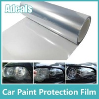 Self Adhesive Clear Bra Headlight Bumper Hood Paint Protection Film Vinyl Sheet Headlights Fog Lights Tint car stickers H2012