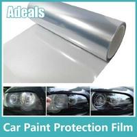 Self Adhesive Clear Bra Headlight Bumper Hood Paint Protection Film Vinyl Sheet Headlights Fog Lights Tint car stickers H2012