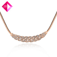 D&Z Austrian crystal necklace whip Fashion necklace series
