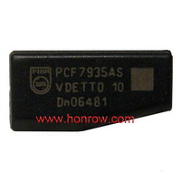 ID45 Carbon peugeot transponder key with Chip