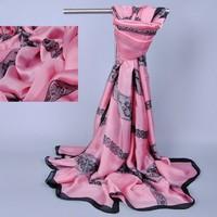 Silk Patchwork Lace Scarf Women Long Winter Shawl 2014 Fashion  Scarves