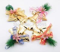 10set/lot Jingle bell Christmas supplies,Size 21x15cm, Christmas tree decoration, Christmas hanging decoration,3pcs/set