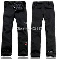 New Design Brand Mens Autumn Winter Outdoor Sports Pants/ S-XXL Size Waterproof Warm Fleece Snow Trousers for Man/ #A366