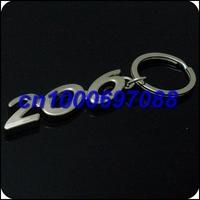 Drop Shipping Mix Car Key Chain 206 3D 500pcs  Men's Car Keychains Keyrings Key Ring Chain Rings Keychain