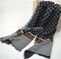 Hot sale 2pcs Women and men Autumn winter couples scarves cashmere geometric keep warm scarf with tassel 180*45CM, 4 colors