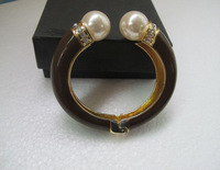 Fashion pearl bracelet women bangle jewelry SY010 18K Gold Plated Cheap Gift Free shipping
