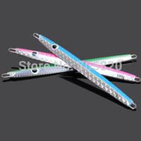Tsurinoya lifelike sparkling jigging Lead fishes,Boat fishing lures,177mm 100g,5pcs/lot,Free shipping