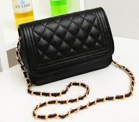 bolsas femininas 2015 brands women Spiraea Quilted chain handbags PU shoulder bag diagonal lady package female bag packet