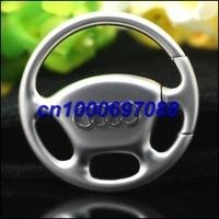 50pcs Mix Car Key Chain Wheel Steering Keychain 3D  Men's Car Keychains Keyrings Key Ring Chain Rings Keychain
