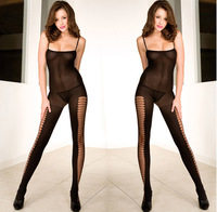 Free Shipping Back Bodystocking Sexy Crotchless Lingerie Bodysuit for Women clothing