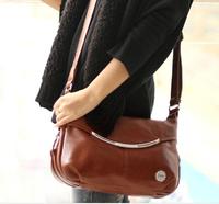 new 2014, fashion, high-grade pu leather women messenger bag contracted single shoulder bag handbag restoring ancient ways