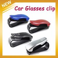 New 2014 Universal Car glasses clip glasses frame sunglasses clip purse documents folder box car auto supplies, Free Shipping