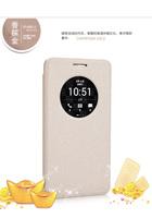 Upscale Original Nillkin Window Filp Sparkle Series PU Leather Case Cover Protective Case for Asus Zenfone6 A600CG