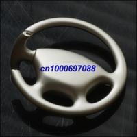 200pcs Drop Shipping Mix Car Key Chain Wheel Steering Keychain 3D  Men's Car Keychains Keyrings Key Ring Chain Rings Keychain