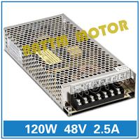 Switching power supply 48V 120W 48V/2.5A  DC power supply S-120-48