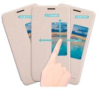 Original Nillkin Window Filp Sparkle Series PU Leather Case Cover Protective Case for Huawei Honor6 Mulan H60-L02 H60-L12