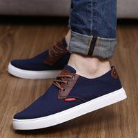 oxfords for women 2014 British men's casual canvas shoes men shoes men shoes breathable solid brogues