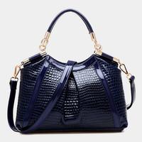 2014 new stone grain women handbag crocodile shoulder bag fashion women messenger bags crossbody bag hot sell women tote