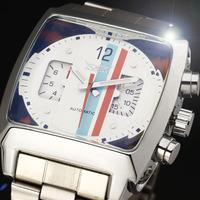 2014 new fashion sport watches men full stainless steel army outdoor stylish calendar winner mechanical self wind wrist watch