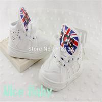 Retail!New 2014 Autumn Children Sneakers Kids Boy Fashion PU Slip Soft Bottom Girl Shoes Free shipping N-0094