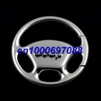 500pcs Mix Car Key Chain J eep Wheel Steering Keyring 3D  Men's Car Keychains Keyrings Key Ring Chain Rings Keychain