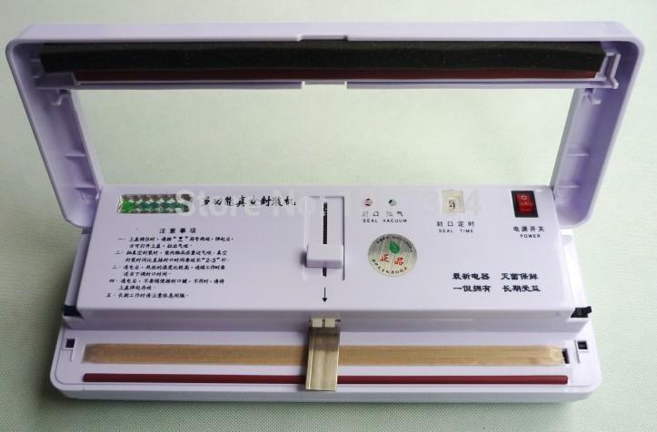 rice/meat/fruit/egg/vegetable min vacuum sealer machine/handy vacuum sealing machine for home use(China (Mainland))