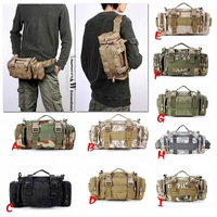 Utility Tactical Waist Pack waterproof Military Camping Hiking Outdoor BagZD1018