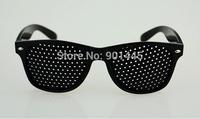 Free Shipping 1pc Unisex Vision Care Pin hole Eyeglasses Eye Exercise Eyesight Improve (2014150)