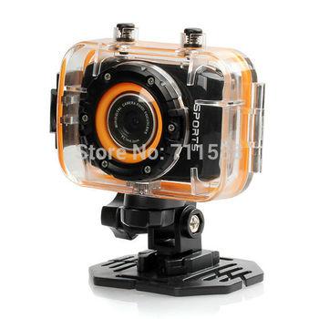 """G260 полный HD 1080 P 2,0 """" экран на открытом воздухе водонепроницаемый портативная спорт действие камера кулачок Mini д . в ."""