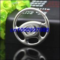 20pcs Mix Car Key Chain M  aazda Wheel Steering Keyring 3D  Men's Car Keychains Keyrings Key Ring Chain Rings Keychain