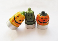 Holiday Pumpkin Candle Halloween household adornment cartoon art candles in the New Year Wholesale factory price