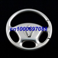 10pcs Mix Car Key Chain R eenault  Wheel Steering Keyring 3D  Men's Car Keychains Keyrings Key Ring Chain Rings Keychain