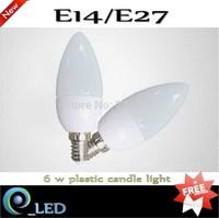 FREE shipping  E14 1Pcs/Lot  E27 B22 SMD2835 5W  7W 220V Warm White/White Candle LED Light Blub Lamp