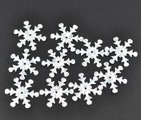Free Shipping Hot 800 Christmas Snowflake Sequins Sewing Scrapbooking