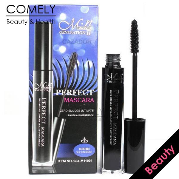 M.n Brand Curling Mascara + 2 Eye Liner Pencils Black Brown Volume Express False Eyelashes Waterproof Cosmetics Eye BHMUE0400025(China (Mainland))