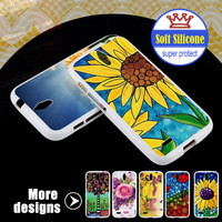 0.3mm Ultra Thin Case For Huawei C8815 G610 Soft New Design Hot Sell TPU Cover For Mobile Phone With Flower Printing
