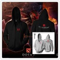 Exclusive design Seattle Men Dota2 Hoodies & Sweatshirts autumn winter lovers casual with hoody sport jacket men's coat