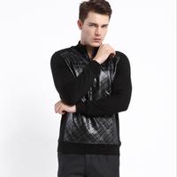 Male plus velvet basic shirt male thickening thermal long-sleeve t-shirt men's clothing autumn and winter t shirt 2014 HZSD4C048