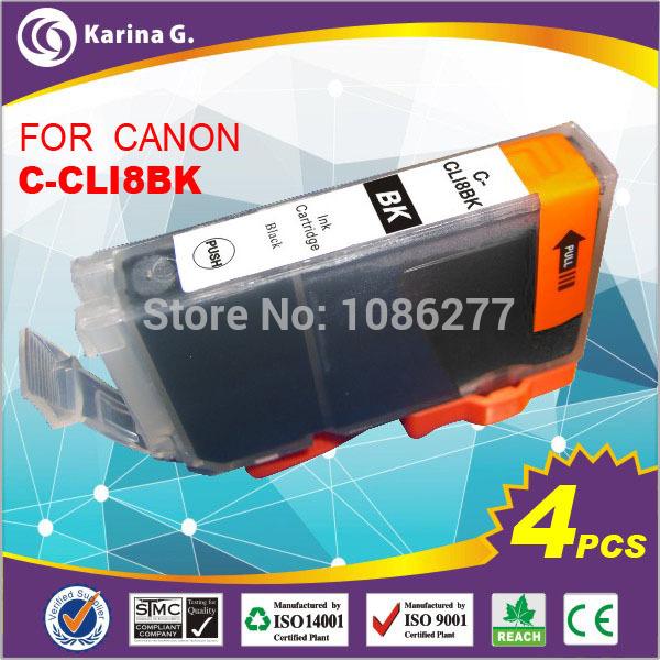 Картридж с чернилами Karina.G 4 canon PGI/8bk PGI8 PGI 8 PIXMA MP600 MP610 MP950 for PGI-8BK qy6 0062 print head for canon ip7500 ip7600 mp950 mp960 mp970