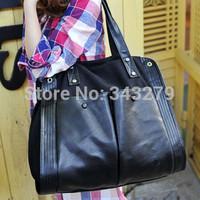 Hot European and American models of classic handbags canvas bag Korean women bag handbag leisure package supports generation of
