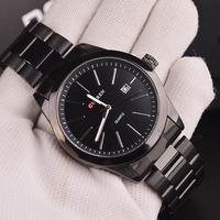 Curren Fashion Business Men's Tungsten Steel Watches, Quartz Military Men Watches, 3 ATM Waterproof Watches