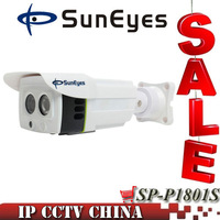 SunEyes SP-P1801S ONVIF P2P 1080P 2.0 MP HD IP Camera Outdoor Project High Quality Array IR 25M SD/TF Card Slot Two Way Audio