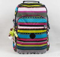 2014 Top quality waterproof Nylon  Backpack School Bag For Girls Travel Bag Large capacity Bag Multi-function