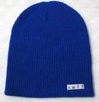 Neff   knitted   hat man  women  warm winter lattice boom outdoor ski hat nodding  cap    free  shipping