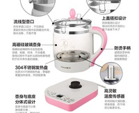 electric TEA kettle  glass electric kettle  FREE SHIPPING Glass health pot